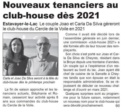 Nouveaux tenanciers 2021